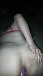 Riding my dildo and loving every second of it! <3