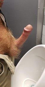 Men's Room Sighting!