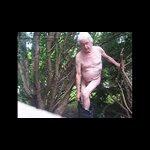 The joy of outdoor wanking